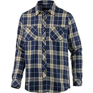 DAKINE Underwood Langarmhemd Herren blau/beige
