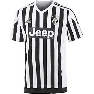 adidas Juventus Turin 15/16 Heim Fußballtrikot Herren schwarz/weiß