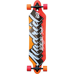 Madrid Phat Script Longboard orange