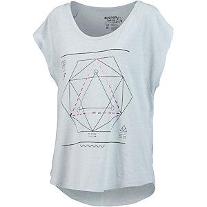 Burton Vertigo T-Shirt Damen hellgrau