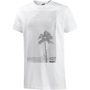 Bench Esplanade Printshirt Herren weiß