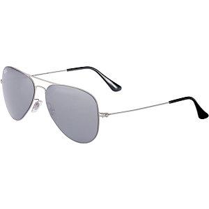 RAY-BAN ORB3513 154/6G 58 Sonnenbrille silberfarben/grau