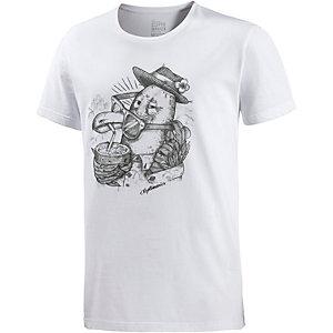 Cleptomanicx Welcome T-Shirt Herren weiß
