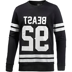 Kultivate Sweatshirt Herren schwarz/weiß