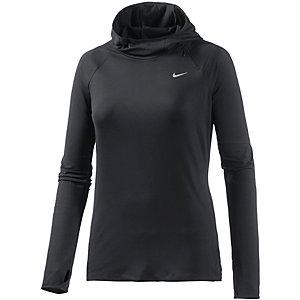 Nike Element Laufhoodie Damen schwarz