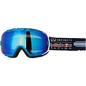 Red Bull Skibrille weiss/blau