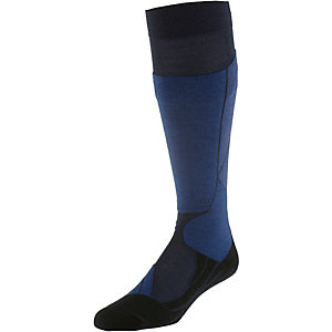 Falke ST4 Wool Skisocken Herren blau
