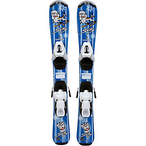 TECNOPRO Set Skitty 14/15 + TC45 All-Mountain Ski Mädchen blau