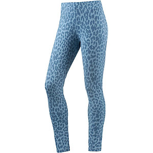 Colour Wear Leggings Damen blau leo