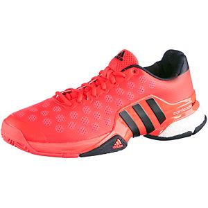 adidas Barricade 2015 Boost Tennisschuhe Herren rot/schwarz