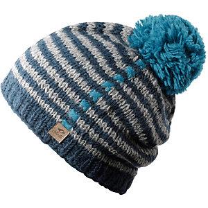 Chillouts Mütze Allison Bommelmütze blau/türkis