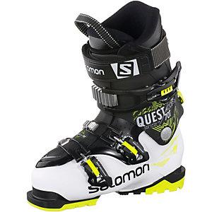 Salomon Quest Skischuhe Kinder weiß/schwarz