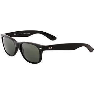 RAY-BAN New Wayfarer ORB2132 polarized Sonnenbrille schwarz/schwarz