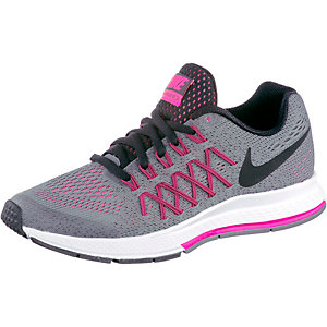 Nike Pegasus Laufschuhe Mädchen grau/pink