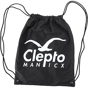 Cleptomanicx Hippag Turnbeutel schwarz