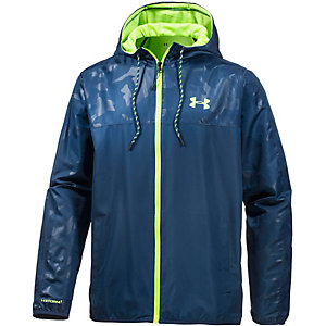 Under Armour HeatGear Sportstyle Trainingsjacke Herren blau