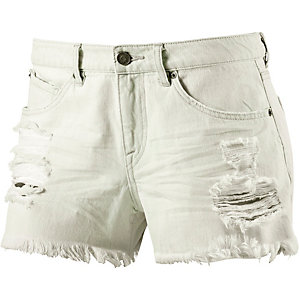 Volcom Stoned Short 3 Jeansshorts Damen light denim