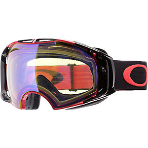 Oakley AIRBRAKE Skibrille RED BLACK/HI YELLOW IRIDIUM & DARK GREY