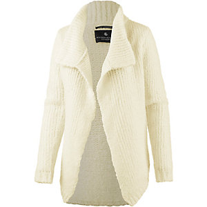 Maison Scotch Strickjacke Damen ecru