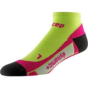 CEP Low Cut Socks Laufsocken Damen lime/pink