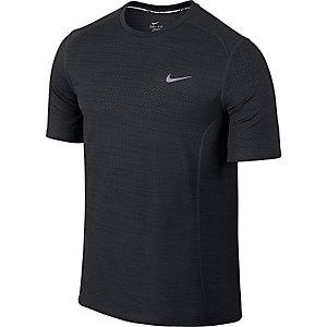 Nike Dri-Fit Cool Miler Laufshirt Herren schwarz