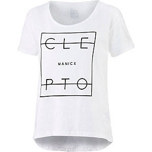 Cleptomanicx Lity T-Shirt Damen weiß