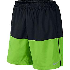 Nike Distance Laufshorts Herren schwarz/grün