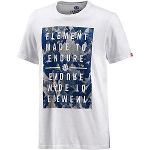 Element Mineral Endur Printshirt Herren weiß