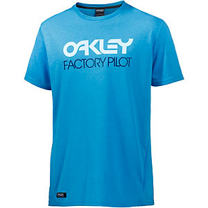 Oakley Basic Graphic Printshirt Herren türkis