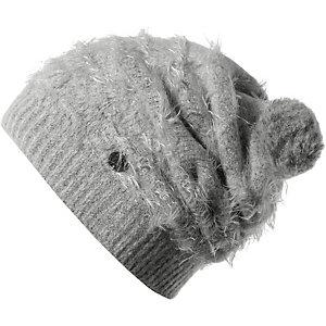 BUFF Eskimo Hat Bommelmütze Damen grau
