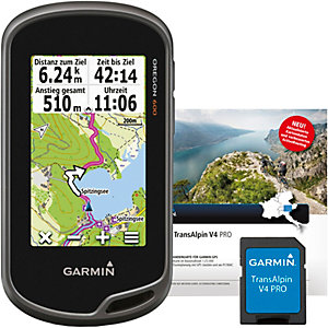 Garmin Oregon 600+Topo TransAlpin V4 Pro GPS anthrazit