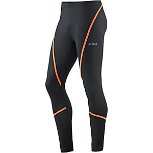 ASICS Lauftights Herren schwarz/orange