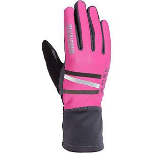 Gore Mythos Windstopper Laufhandschuhe Damen schwarz/pink