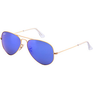 RAY-BAN Aviator Sonnenbrille gold