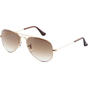 RAY-BAN Aviator 0RB3025 001/51 55 Sonnenbrille gold