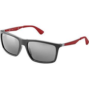 RAY-BAN 0RB4228 618588 58 Sonnenbrille schwarz/ rot