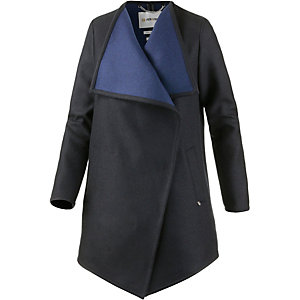 Rich & Royal Kurzmantel Damen schwarz/blau