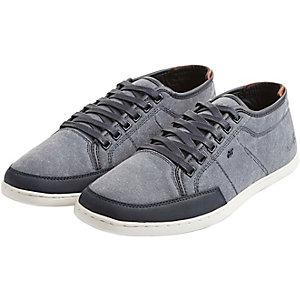 Boxfresh SPARKO WSD CNVS/LEA Sneaker Herren rauchblau