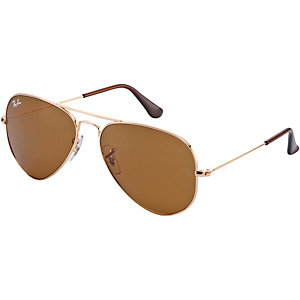 RAY-BAN Aviator 0RB3025 001/33 55 Sonnenbrille gold