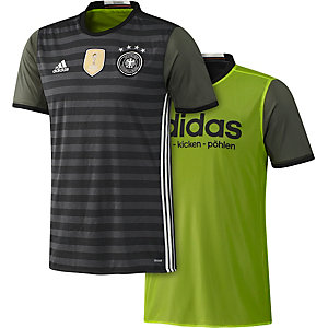 adidas DFB EM 2016 Auswärts Fußballtrikot Herren grau