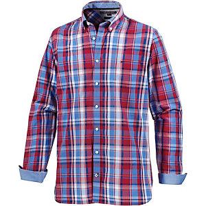 Tommy Hilfiger Langarmhemd Herren blau/rot