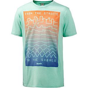 Bench Distance Printshirt Herren mint