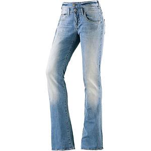 Herrlicher Bootcut Jeans Damen blue denim
