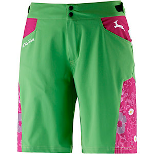 Wildzeit Almglück Bike Shorts Damen grün/pink