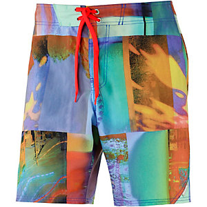Bench Exposure Boardshorts Herren mint/allover