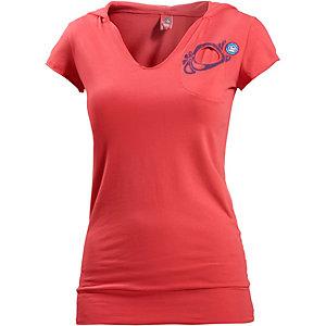 E9 H Kapuzenshirt Damen rot