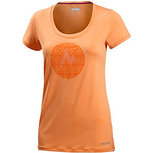 Marmot Post Time Funktionsshirt Damen orange