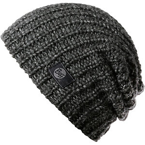 BUFF Knitted Hat Stream Beanie dunkelgrau