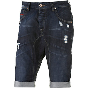 VSCT Jeansshorts Herren destroyed denim
