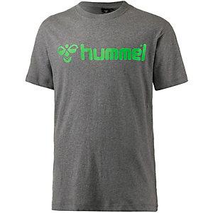 hummel Classic Bee SS T-Shirt Herren dunkelgrau